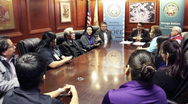 Nez declares September Navajo Nation Suicide Prevention Week